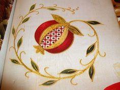 Pomegranate illustration from Inspirations magazine