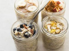 As You Like It: Overnight Oats for Breakfast  from  Food Network