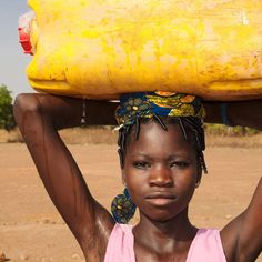 Girl in Benin
