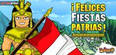 ¡Feliz 28... qué viva el Perú! #peru #incas #feliz28 #fiestaspatrias #inkamadness #games #apps