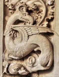 Basilisco - Claustro de San Juan de los Reyes, Toledo