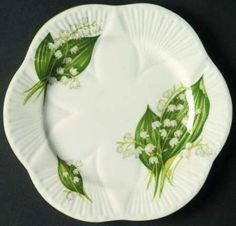 Shelley, fine bone china, 'Lily of the Valley', made in England. JH