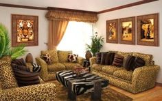 African inspired home decor and African interior design decor ideas How to add African style to your interior design, the best African inspired home decor, African decorating ideas for living room and African bedroom decor ideas Zebra Living Room, Safari Living Rooms, Living Room Themes, Living Room Murals, My Living Room, Living Room Interior, Living Room Designs, Living Room Furniture, Interior Paint