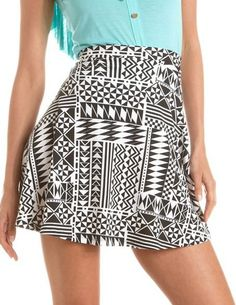 #Charlotte Russe          #Skirt                    #Aztec #Print #Ponte #Skater #Skirt: #Charlotte #Russe                        Aztec Print Ponte Skater Skirt: Charlotte Russe                               http://www.seapai.com/product.aspx?PID=1084641