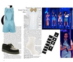 """""""Little Mix at ' Dancing On Ice ' ~"""" by mzlle-poopey ❤ liked on Polyvore"""