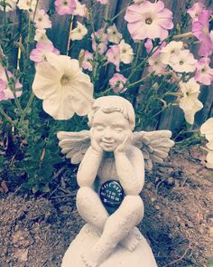 Hold On, Pain Ends.   #HopeForTheDay #HaveHope #Spring #Flowers #Angels