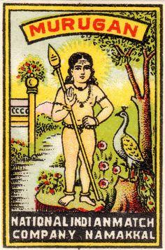 The History of Indian Matchbox Art Vintage Labels, Vintage Ads, Vintage Prints, Vintage Photos, Matchbox Art, Vintage India, Pink Lotus, Poster Pictures, Vintage Magazines