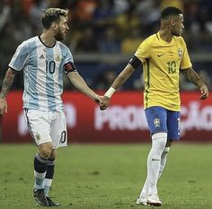 Best of Rivals and Enemies. Argentina vs Brazil  Lionel Messi and Neymar Ex-teammates at Barca