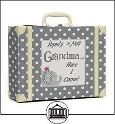 Child to Cherish Polka Dot Going to Grandma's Keepsake, Grey by Child to Cherish  ✿ Regalos para recién nacidos - Bebes ✿ ▬► Ver oferta: http://comprar.io/goto/B00T63RTO2