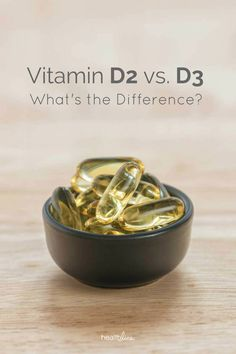 Vitamins and differ in a few important ways. This article explains the main differences between vitamin and Nutrition Articles, Health And Nutrition, Health And Wellness, Nutrition Guide, Benefits Of Vitamin A, Vitamin D2, Vitamin D Deficiency, Daily Health Tips, Natural Vitamins