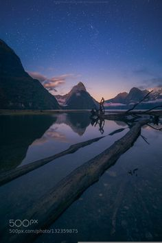 dawn of Milford sound by Vorrarit