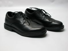 378c7d4dfa Red Wing Oxfords 4070 Black Leather Work Mens Shoes Size 9.5 Soft Toe EUC!!   RedWingShoes  Oxfords