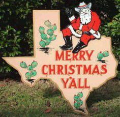 merry texas christmas y all