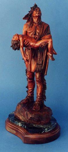 "Wood Sculpture26""H. X 12W""W.[sold]"