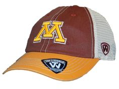 Minnesota Golden Gophers Top of the World Red Offroad Adjust Snapback Hat Cap