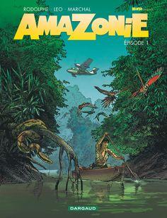 Amazonie, Kathy Austin sur la piste d'un extra-terrestre avec Léo et Rodolphe http://www.ligneclaire.info/leo-rodolphe-marchal-41097.html
