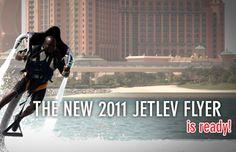 Water Jet Pack - Jetlev Flyer (over $100,000) #water #gadget