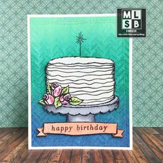A Special Sparkly Birthday Card Birthday Photos, Birthday Cards, Happy Birthday, Distress Oxide Ink, Little My, Hero Arts, Close To My Heart, Brighten Your Day, I Card