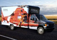 AERIAL's New Utility Truck is a Real Head-Turner | Vertical - Helicopter News