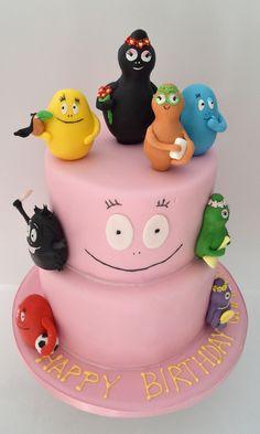 Barbapapa cake.