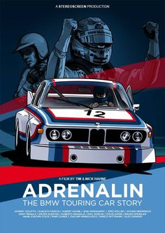 Adrenalin - The BMW Touring Car Story. A filem by Tim and Nick Hahne. This is definitely on my Christmas list.