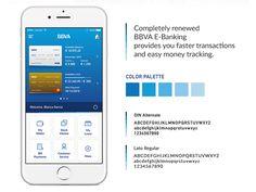 BBVA Banking App Main Screen by Orkun Buran