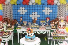 TEMA TOY STORY. Confira mais em http://www.sitiovoceeeu.com.br/festainfantil.html