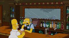 Inside Moe's Tavern