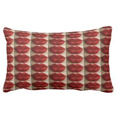 """A MILLION RUBY RED LIP KISSES TOSS PILLOW IS A """"GREAT BRIDAL SHOWER GIFT"""", """"WEDDING GIFT"""", """"VAL DAY GIFT"""", BIRTHDAY, HOUSEWARMING OR FOR """"THE LOVE OF IT"""" GIFT!"""