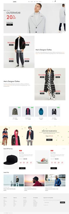 """Coro is a clean, minimal, creative and modern eCommerce theme for WordPress platform. Powered by WordPress' most popular eCommerce platform """"WooCommerce"""", Coro can be the tool for building your new eCommerce website Ecommerce Platforms, Wordpress, Creative, Modern, Minimal, Popular, Shopping, Website, Building"""