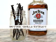 Make the best ever vanilla extract! Just in time for the holidays.
