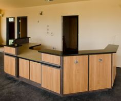 Front Desk Receptionist Designs | ... desk, custom desk, commercial reception desk, reception desk design