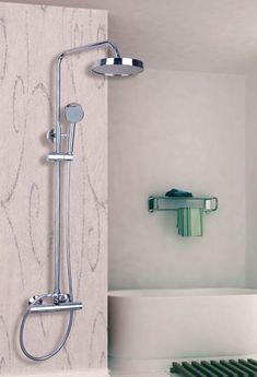 53309 Single Handle Wall Mounted Bathroom Rain Shower Faucet Set With Handheld Shower Mixer Tap Shower Mixer Taps, Tub And Shower Faucets, Shower Set, Rain Shower, Bathroom Bath, Bathroom Fixtures, Bathroom Chrome, Bath Tub, Brass Shower Head