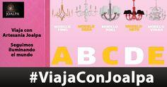 Una nueva edición de #ViajaConJoalpa, seguimos iluminando el mundo. En esta ocasión otra increíble ciudad digna de iluminar. Podéis votar por vuestro modelo favorito. La última edición el modelo más votado fue el Modelo NOEL de nuestro nuevo catálago 2015.