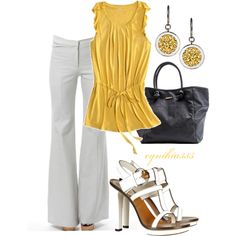 I love yellow for Spring