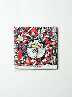 Third Drawer Down Handkerchief Set by Nathalie Du Pasquier.
