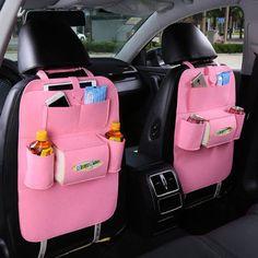 3ec226f8fea Universal Car Seat Back Multi-Pocket Hanging Holder Storage Bag Tidy  Organizer Storage Shelves Bins