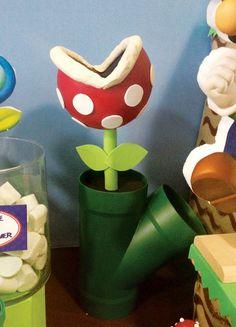 Super Mario Bros Party Ideas // Hostess with the Mostess® Super Mario Bros, Super Mario Party, Super Mario Birthday, Mario Birthday Party, Super Mario Brothers, 3rd Birthday, Birthday Ideas, Mario Und Luigi, Mario Bros.