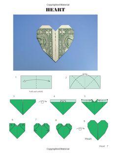 Amazon.com: Easy Dollar Bill Origami (Dover Origami Papercraft) (9780486470092): John Montroll: Books