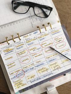 Organize Your Life, Psych, Menu, Bullet Journal, Organization, Kitchen, Blog, Recipes, Diet