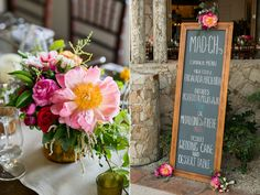 chalkboard signs - photo by Ana and Jerome Photography http://ruffledblog.com/colorful-joyous-wedding-in-cabo-san-lucas