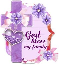Thank You God For My Family