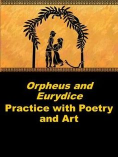 "This lesson encourages students to write with greater profundity when analyzing an author's choices regarding figurative language and other poetic techniques. Czeslaw Milosz wrote ""Orpheus and Eurydice"" and Jean-Baptiste-Camille Carot painted ""Orpheus Lea High School Literature, World Literature, American Literature, Teacher Lesson Plans, Teacher Resources, Teaching Ideas, Poetic Techniques, Teacher Helper, Middle School Teachers"