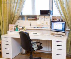 Организация рабочего места творческого человека. Моя домашняя дизайн-студия/офис-магазин.