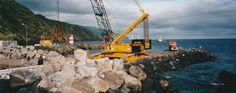 PORTO DA CALHETA: Construção Novo Cais (20)
