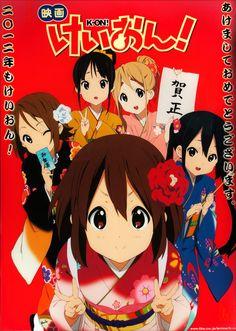 K-on! #けいおんCharac:akiyama mio//hirasawa yui//kotobuki tsumugi//nakano azusa//tainaka ritsu K-ON MOVIE!!