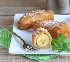 Beim Chinesen oder Thailänder können viele von uns nicht drauf verzichten: Gebackene Bananen! In der eigenen Küche können wir dieses leckere Dessert jetzt ganz einfach, schnell und günstig machen, wann immer wir dazu Lust haben. www.fuersie.de/...