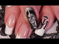 Nail Art nail art on jackson Michael Jackson Quotes, Broken Nails, Nail Envy, Types Of Nails, Perfect Nails, Mani Pedi, Pretty Nails, Nail Colors, Acrylic Nails