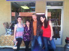 Ladd Cahoon, Marissa Cahoon, Karina and Sheana Davis all together!