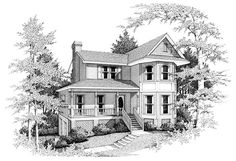 Country   Southern   House Plan 90475